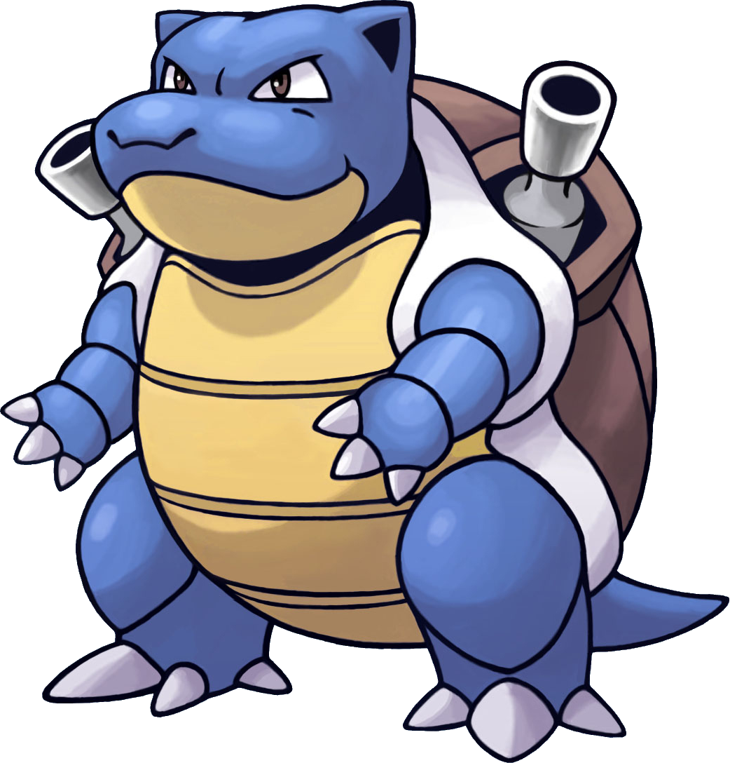 Red Blastoise What's includ...