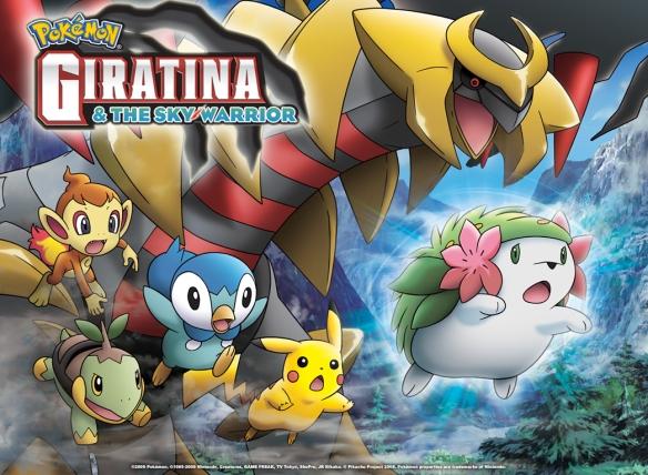Watch pokemon giratina and the sky warrior japanese