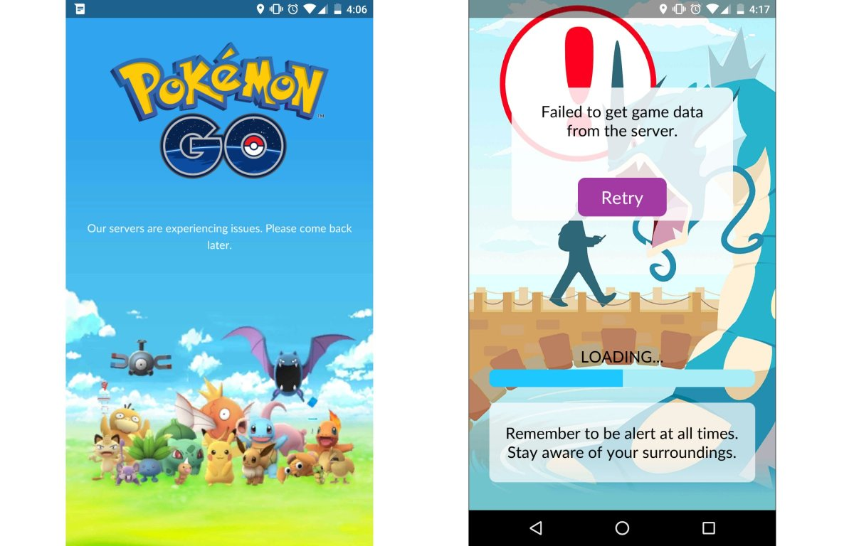 New Pokémon GO issue preventing users from logging in, September 26