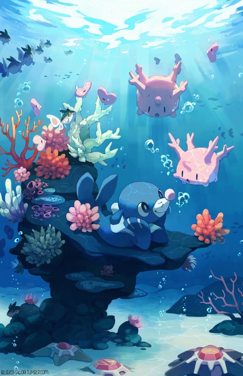 Pokemon Sun And Moon Starter Popplio Enjoys Spending Time