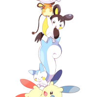 The Electric-type tower of cute rodent Pokemon