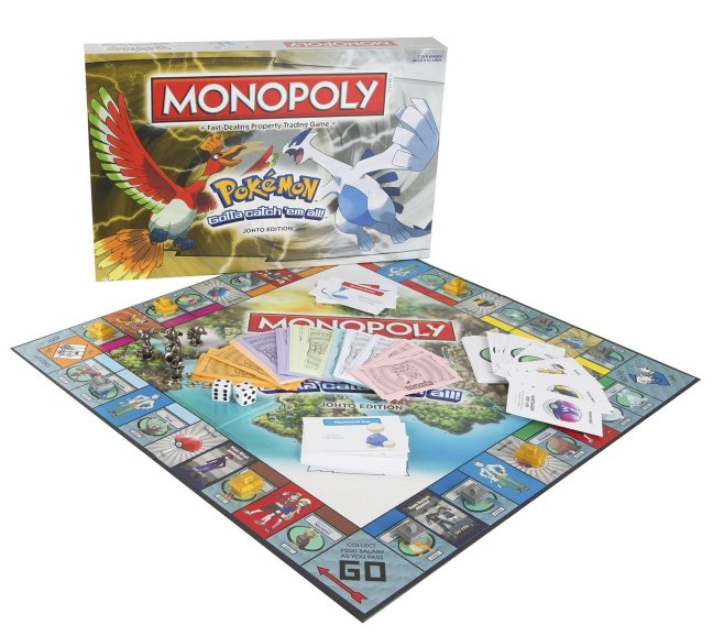 Monopoly Pokemon Johto Edition Now Available At Toys R Us For