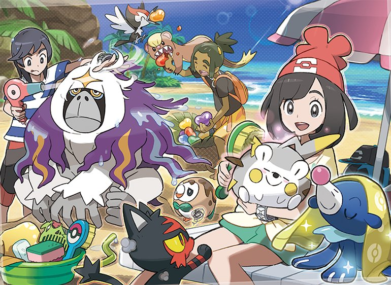 Nintendo 3ds Pokemon Games : Pokémon sun and moon ranked among the best games for nintendo