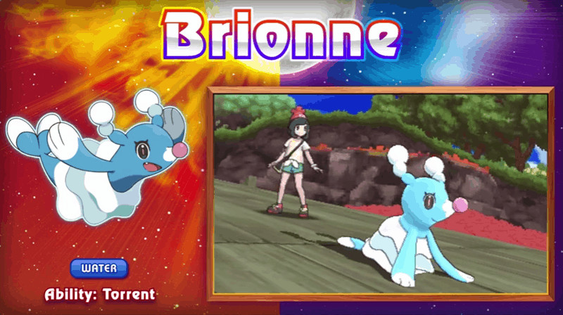 Video The Bubbly Nature Of Popplio Brionne And Primarina In