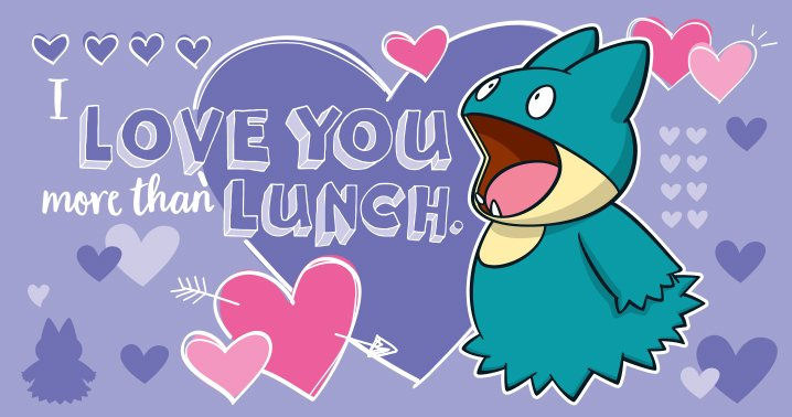 The Pokémon Company Has Made A Total Of 29 Pokémon Themed Valentines For Valentines  Day 2017, Featuring A Number Of Adorable Pokémon U2013 Including Munchlax, ...