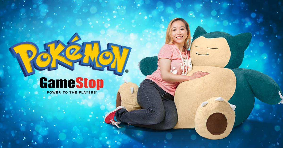 Pokemon Snorlax Bean Bag Chair Now Available At GameStop For 150 Blog