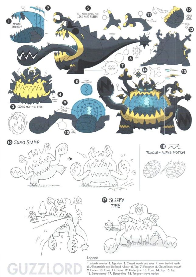 Ultra Beasts Concept Art Unveiled For Nihilego Buzzwole