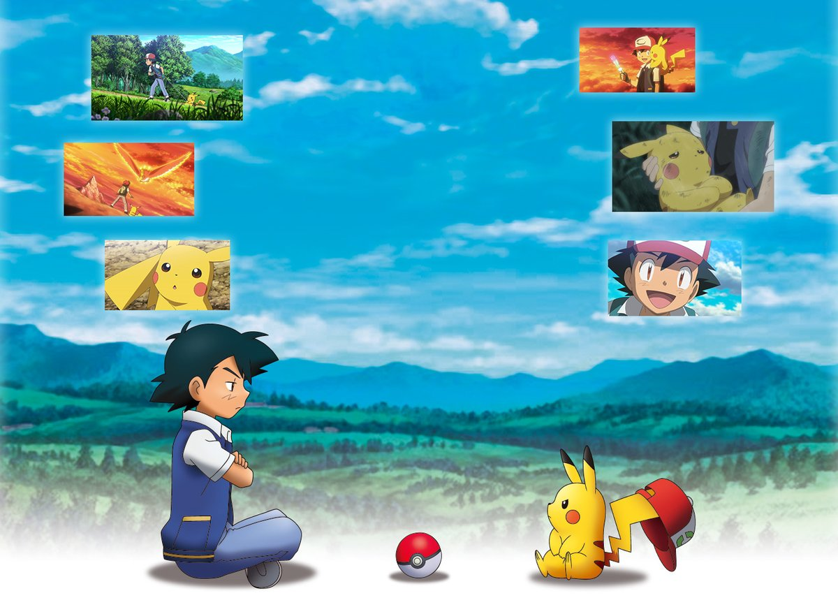 New Artwork Of Ash And Pikachu Unveiled For Pokemon The Movie I