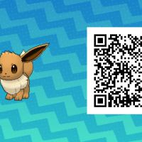 Pokémon Sun and Moon QR Scanner codes for Eevee and all eight of its evolutions