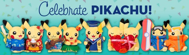 ac02ec1d Celebrate Pikachu via the adorable Pikachu Celebrations line at the Pokémon  Center | Pokémon Blog