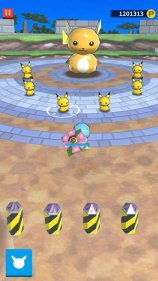 pokeland_screenshot_ivysaur_vs_pikachu_and_raichu