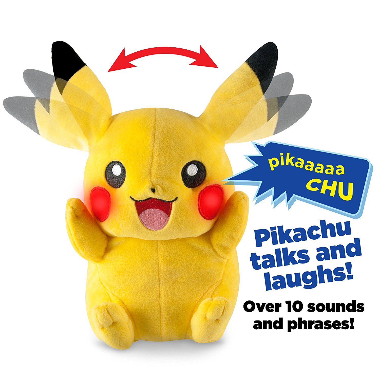 Pokemon My Friend Pikachu Talking Plush Toy Now Available At Amazon Pokemon Blog
