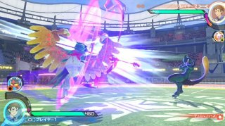pokken_tournament_dx_Decidueye_shooting_shadow_mewtwo_screenshot