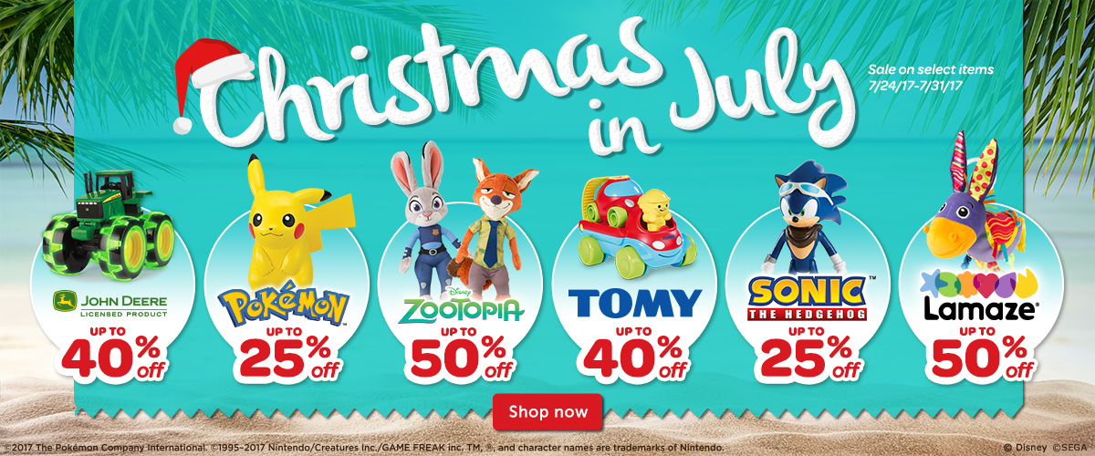 Up to 25 percent off on Pokémon plushies and figures at TOMY