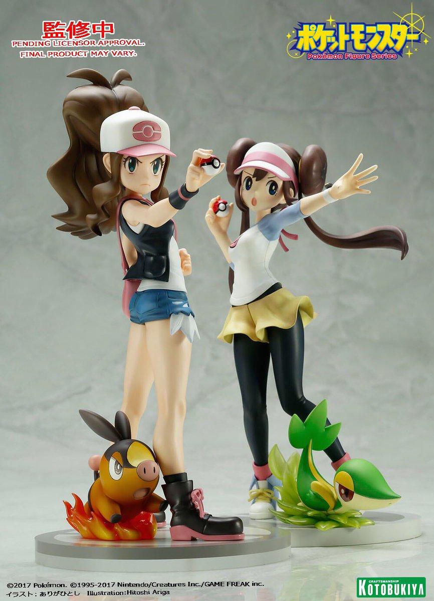 New Kotobukiya Pokémon figures revealed for Moon, Hilda and Rosa | Pokémon  Blog