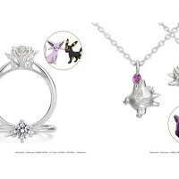 New Pokémon jewelry unveiled featuring Eevee, Espeon, Umbreon and Gengar