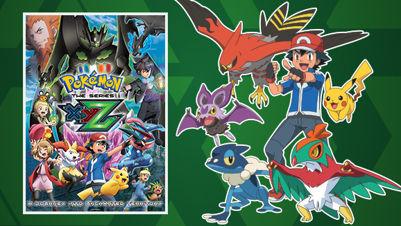 first half of pokémon the series xyz comes to dvd on august 29