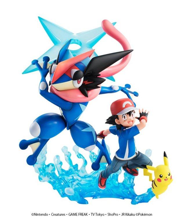 new pok233mon 3d figure features ash pikachu and ash