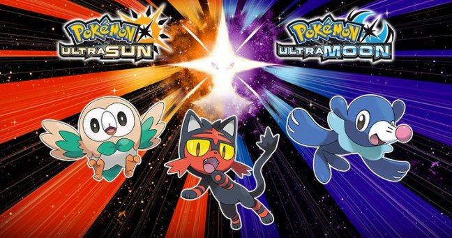 Pok\u00e9mon Ultra Sun and Ultra Moon artwork \u2013 Pok\u00e9mon Blog