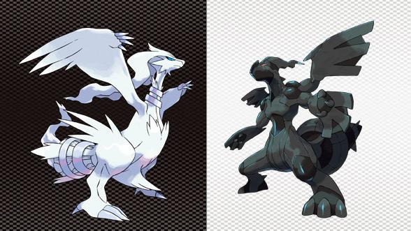 Pokemon Reshiram and Zekrom Papercraft by Sabi996 on DeviantArt | 331x588