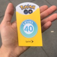 Sprint gives away level 40 Pokémon GO Trainer badge instead of level 30