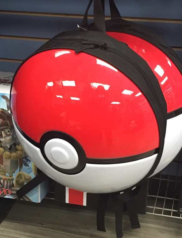 Pokémon-themed Poké Ball 3D molded backpack 25 percent off at GameStop 84d14153d7224