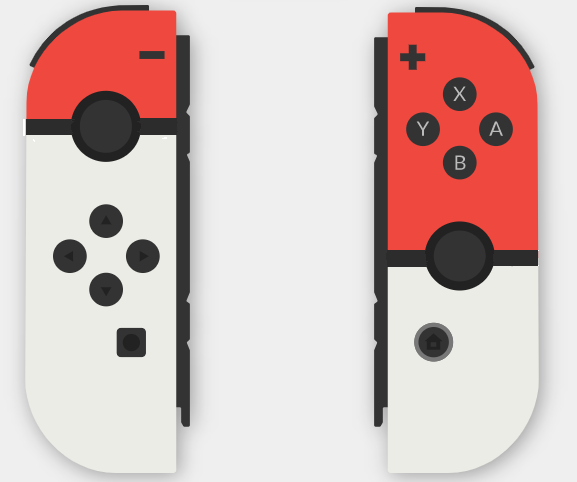 Image result for nintendo switch joycon design