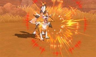 pokemon_ultra_sun_and_ultra_moon_first_battle_screenshot_of_dusk_form_lycanroc