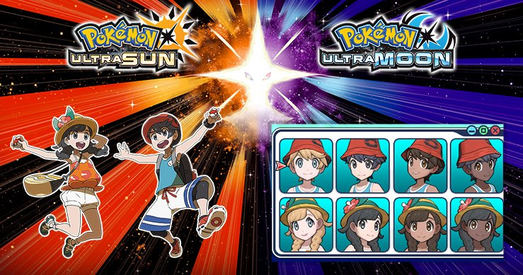 Video All Different Hairstyles And Colors In Pokemon Ultra Sun And
