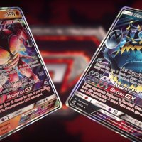 Official sneak peek at Ultra Beasts Buzzwole-GX and Guzzlord-GX for Pokémon TCG