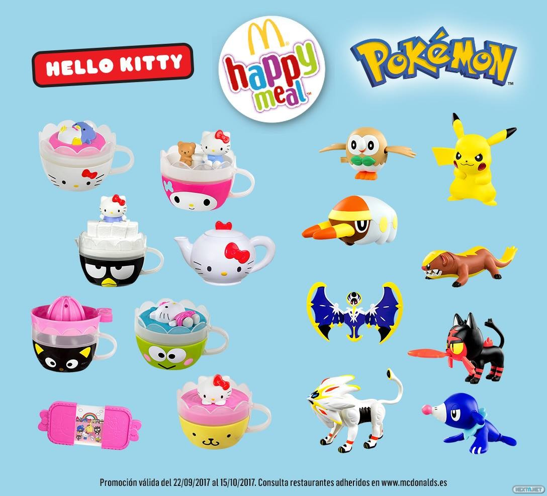 Closer Look At New Pokémon Sun And Moon Happy Meal Toys From