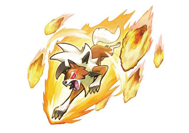 Lycanroc Dusk Form Pokemon