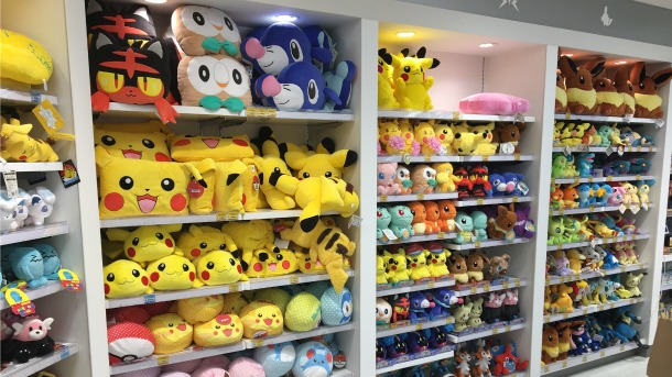 Game Informers Kimberley Wallace Recently Got A Chance To Visit The Official Pokemon Center Store In Nagoya Japan She Took Some Pictures Of