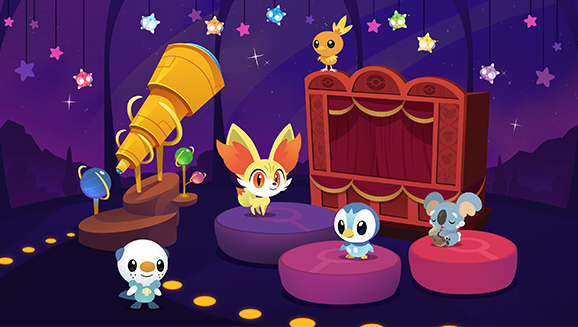 pokemon_playhouse_screenshot_of_fennekin_komala_torchic_piplup_oshawott_and_telescope