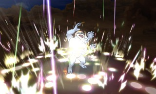 pokemon_ultra_sun_and_ultra_moon_screenshot_of_necrozma_signature_move_prismatic_laser_hitting_machamp