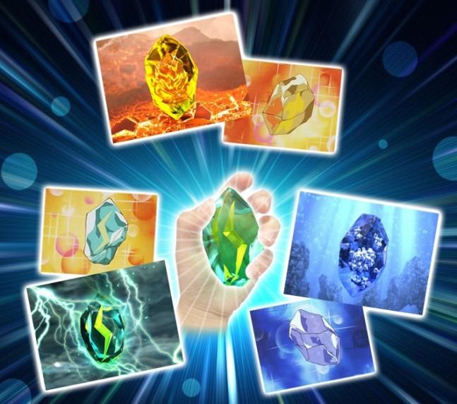 pokémon evolution stone detailed replicas revealed for thunder stone