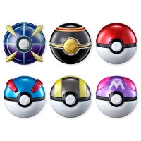 New Poké Ball figures feature lifelike replicas of Great Ball, Ultra Ball, Master Ball, Luxury Ball and Beast Ball