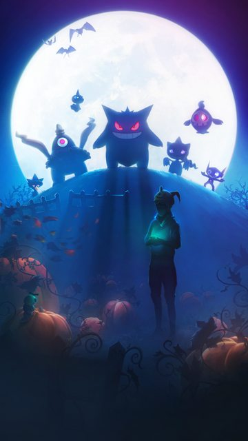 the halloween 2017 loading screen for pokmon go has been spotted via data mining it features artwork of various ghost type pokmon including generation 3