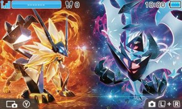 pokemon_ultra_sun_and_ultra_moon_nintendo_3ds_theme_dusk_mane_and_dawn_wings_necrozma_top_screen