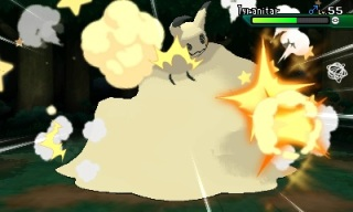 pokemon_ultra_sun_and_ultra_moon_screenshot_of_mimikyu_using_its_z_move_lets_snuggle_together_on_tyranitar