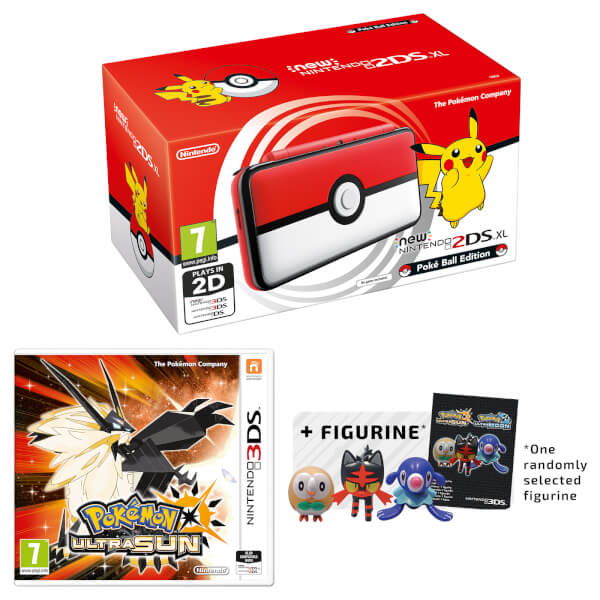 New star bundle features new nintendo 2ds xl pok ball for Housse 2ds xl pokemon