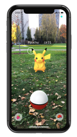 pokemon_go_arplus_screenshot_of_pikachu_with_low_awareness_in_the_wild_iphone_x