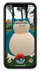 pokemon_go_arplus_screenshot_of_wild_snorlax_expert_handler_bonus_iphone_x