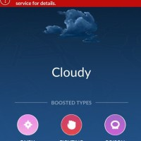 Pokémon GO now alerts players to hazardous weather near you