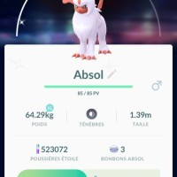 Absol and Shiny Absol now appearing in Pokémon GO Field Research tasks