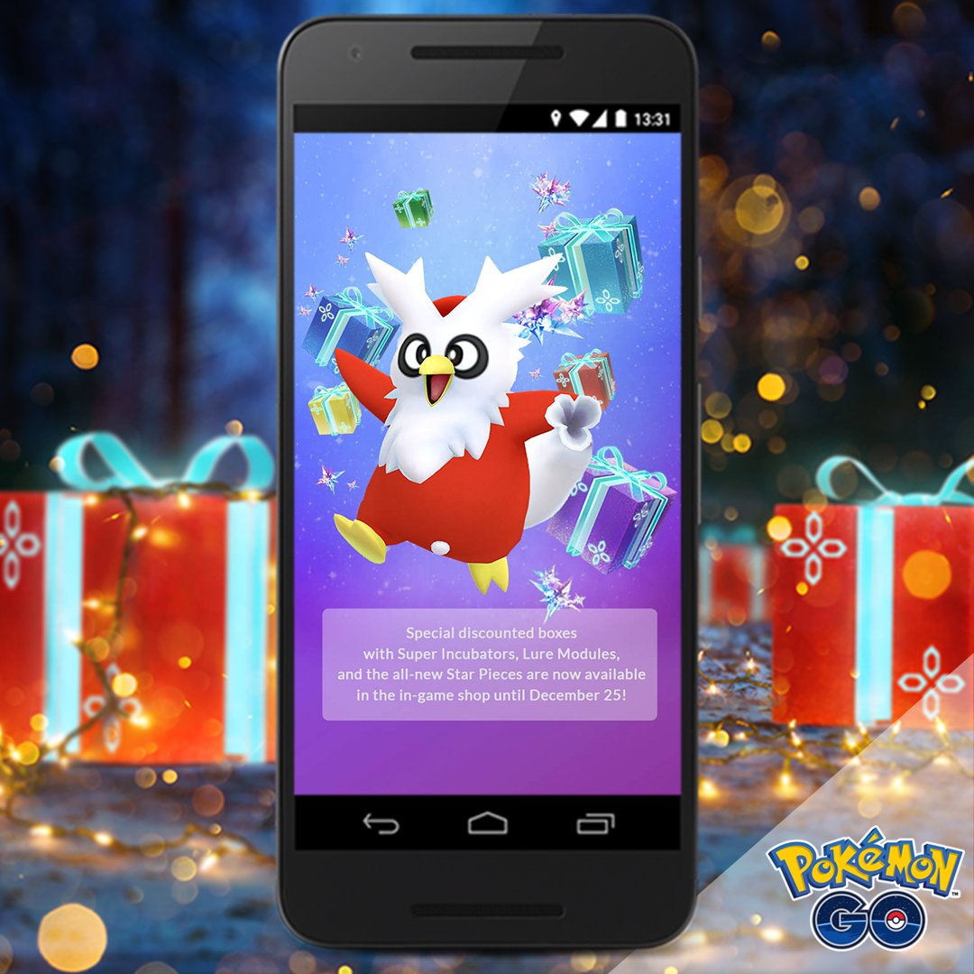 Pokemon Go Christmas Boxes.Last Chance To Purchase Special Discounted Boxes In Pokemon