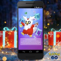 New avatar items Delibird sweater, gloves and boots available December 18 in Pokémon GO Style Shop