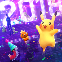 New Pokémon GO loading screen for 2018 New Year features Pikachu, Torchic, Wurmple, Milotic and more