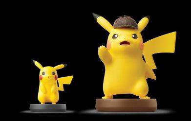 detective_pikachu_amiibo_alongside_normal_pikachu_amiibo
