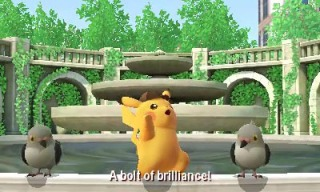 Detective_Pikachu_screenshot_pidove_fountain_a_bolt_of_brilliance